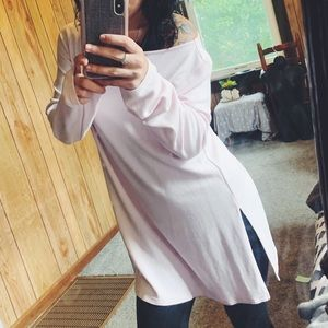 light pink J. Jill sweater